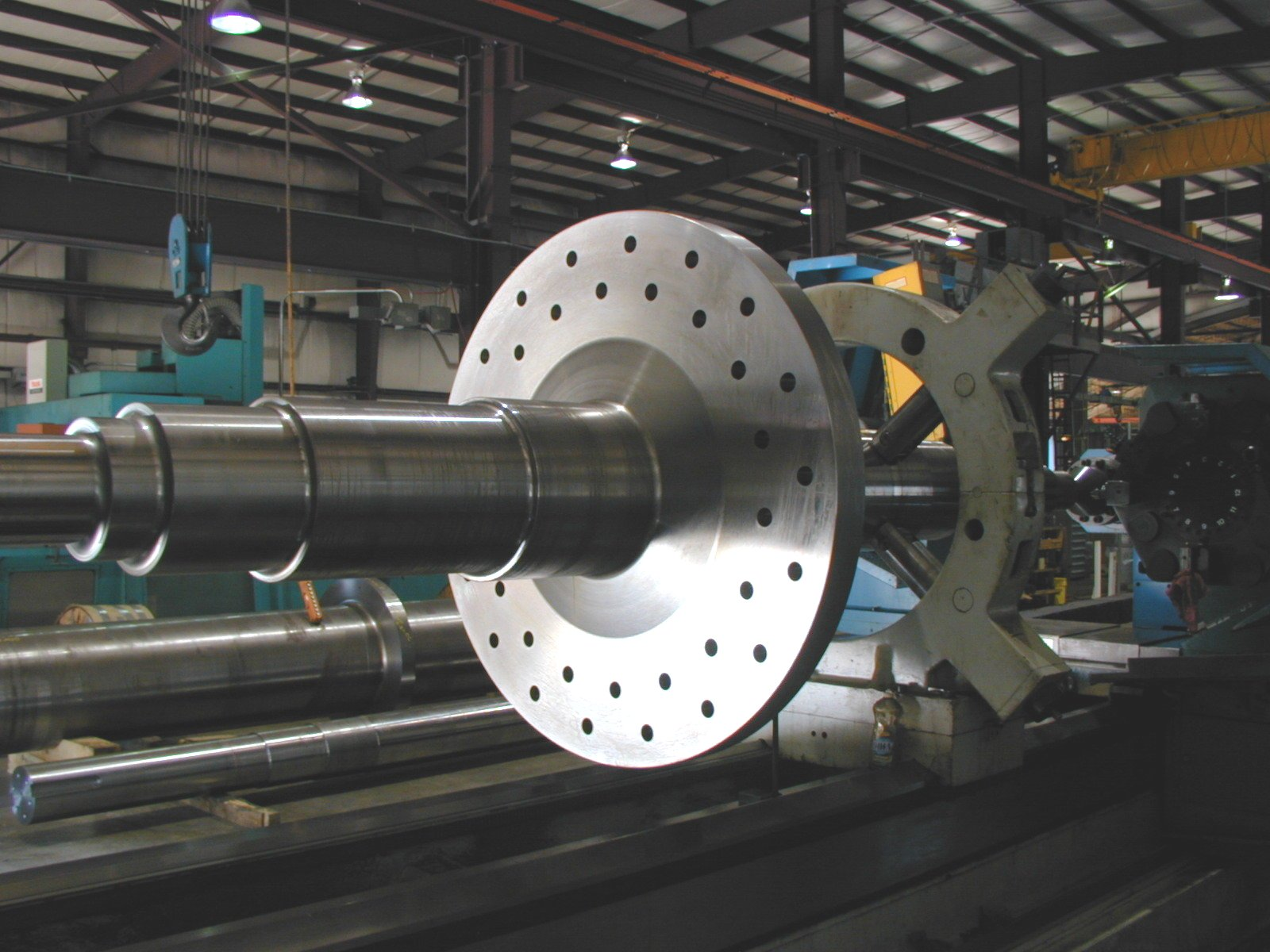 Stepped Long Shaft Machining